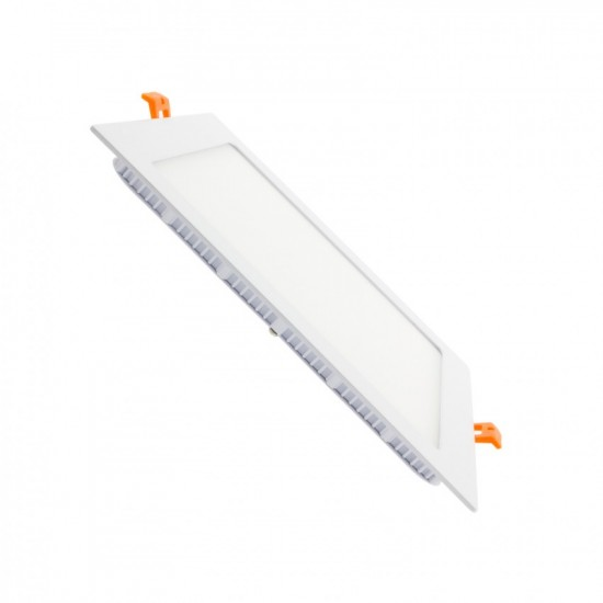 Panel LED Cuadrado de Empotrar 12W